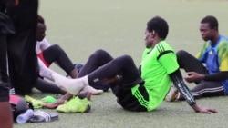 Les footballeurs tchadiens en mode de survie