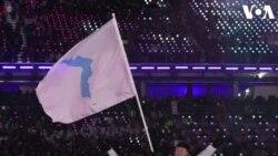 Atlet Korea Selatan dan Korea Utara Bersatu dalam Upacara Pembukaan Olimpiade