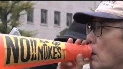 2012-11-11 美國之音視頻新聞: 日本反核人士星期日在國會外抗議
