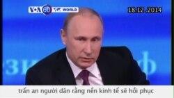 Tổng thống Nga trấn an người dân về nền kinh tế (VOA60)