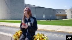 ARHIVA - Brendi Livi ispred svoje srednje škole u Mahanoj Sitiju u Pensilvaniji 4. aprila 2021. (Foto: Američka unija za građanske slobode)