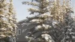 在阿拉斯加极端寒冷气候中修建家园