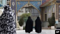 伊朗首都德黑兰街景。