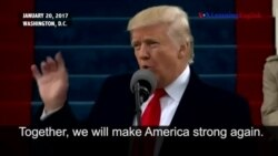 President Donald Trump's Inaugural Address Highlights