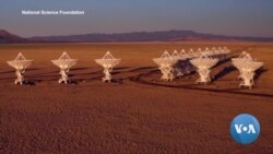 Radio Telescope Explores Cosmic Mysteries