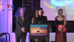 مهسا احمدی، بدلکار ایرانی موفق به دریافت جایزه اکشن آی کان
