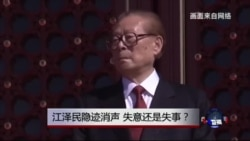 时事大家谈:江泽民隐迹消声,失意还是失事?