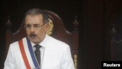 Prezidan dominiken an, Danilo Medina.
