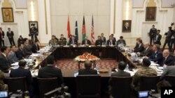 گروه هماهنگی چهارجانبه نقشۀ راه روند صلح افغانستان را طراحی کرده است.