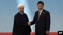 Lideri Kine, Ši Đinping i Irana, Hasan Rohani, 23. januar 2016.