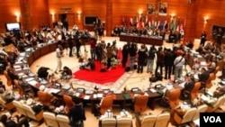 El sábado pasado, en El Cairo, la Liga suspendió a Siria como miembro de la organización.