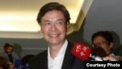 將會就任的台灣駐美國代表的金溥聰