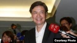 即將走马上任的台湾駐美代表金溥聰(中央社)