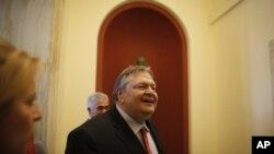 Lãnh tụ Đảng PASOK Evangelos Venizelos