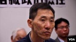 香港前立法會議員姚松炎。(美國之音湯惠芸)