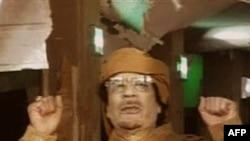 Lãnh tụ Libya Moammar Gadhafi (ảnh tư liệu)
