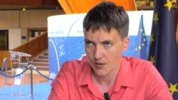 Надежда Савченко о России: «Санкции нужно вводить персональные, чтобы меньше страдал народ, а больше страдали власти...»