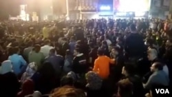 Сидячая забастовка в городе Бехбахан, 15 ноября 2019 года