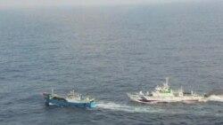 日本称中国渔船船长承认非法作业可能获释