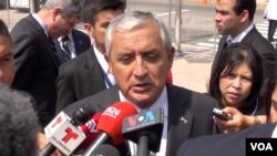 El presidente de Guatemala, Otto Perez Molina, podría perder su inmunidad diplomática, y ser investigado por posibles delitos de corrupción, aunque el mandatario asegura de que no renunciará a la presidencia.