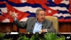 Chủ tịch Cuba, Raul Castro.