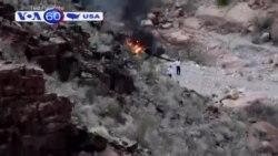 Mỹ: Rơi trực thăng, ba du khách tử nạn