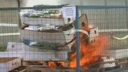 کارشناسان: مسکو با سوزاندن مواد غذایی غربی اعتبار روسیه را خدشه دار می کند