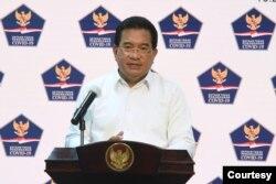 Jubir Satgas COVID-19 Prof Wiku Adisasmito dalam telekonferensi pers di Istana Kepresidanan, Jakarta, Selasa (22/9) menyebut angka kematian nasional akibat virus corona naik 18,9 persen dalam sepekan (Setpres RI)