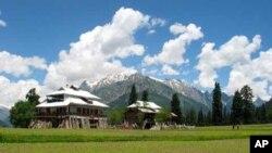 پاکستانی کشمیر میں واقع نیلم ویلی کا ایک دلکش منظر