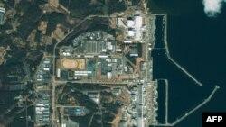 Изображение со спутника Фукусимской АЭС