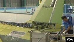 南韓製造的FA-50戰鬥機(視頻截圖)