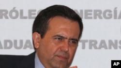 Secretario de Economía de México, Idelfonso Guajardo.