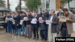 Girtina Rojnamevnana li Herêma Kurdistanê Tê Protesto Kirin