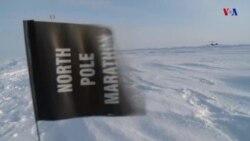 Checo y Australiano ganan maratón en Polo Norte
