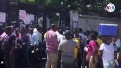 Ayiti: Egzamen Ofisyèl pou Filo Demare; Plizyè Elèv Poko Jwenn Fich pou Al Konpoze
