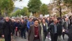 Završen protest penzionera pred Vladom FBiH