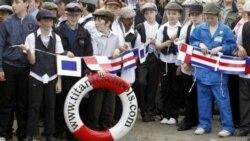 صدمین سال به آب انداختن کشتی «تایتنیک» جشن گرفته شد