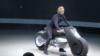 محصول جدید ب ام و: موتورسیکلتی که هرگز زمین نمی خورد