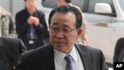 지난 주 베이징을 방문한 북한의 김계관 외무성 제1부상