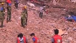 孟加拉工廠大樓倒塌死亡人數過600