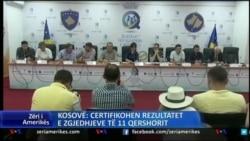 Çertifikohet rezultati i zgjedhjeve në Kosovë