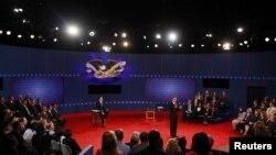 Druga debata američkih predsedničkih kandidata na Univerzitetu Hofstra u Njujorku