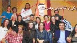 ماموران امنیتی پس از حمله به کلاس آموزش عرفان عکس های این خانه را برده و آنهارا در اختیار رسانه های دولتی گذاردند