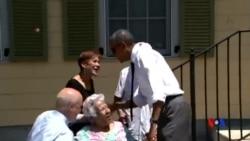 2015-08-28 美國之音視頻新聞:奧巴馬: 新奧爾良浴火重生啟發美國