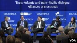 29일 미국 워싱턴 브루킹스연구소에서 아시아태평양 안보 관련 토론회가 열렸다.