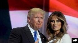 میلانیا ترمپ همسر سوم دونالد ترمپ است