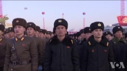 朝鲜举行集会庆祝导弹发射