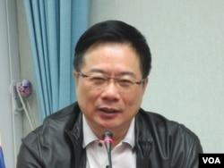 台湾执政党国民党立委蔡正元(美国之音张永泰拍摄)