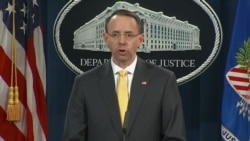Rosenstein: Conspiracy Was Part of Larger Operation