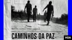"""Moçambique – Poster do documentário """"Caminhos da Paz"""" de Sol de Carvalho"""